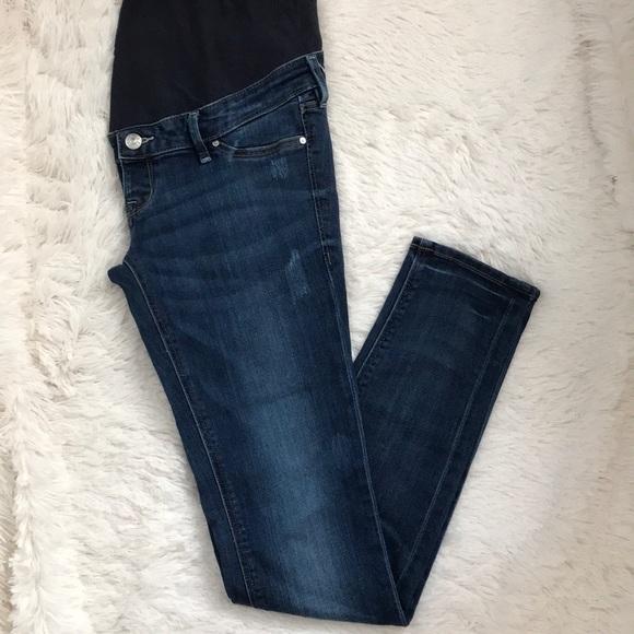 454c8239a6265 H&M Jeans | Hm Mama Skinny High Rib Maternity | Poshmark